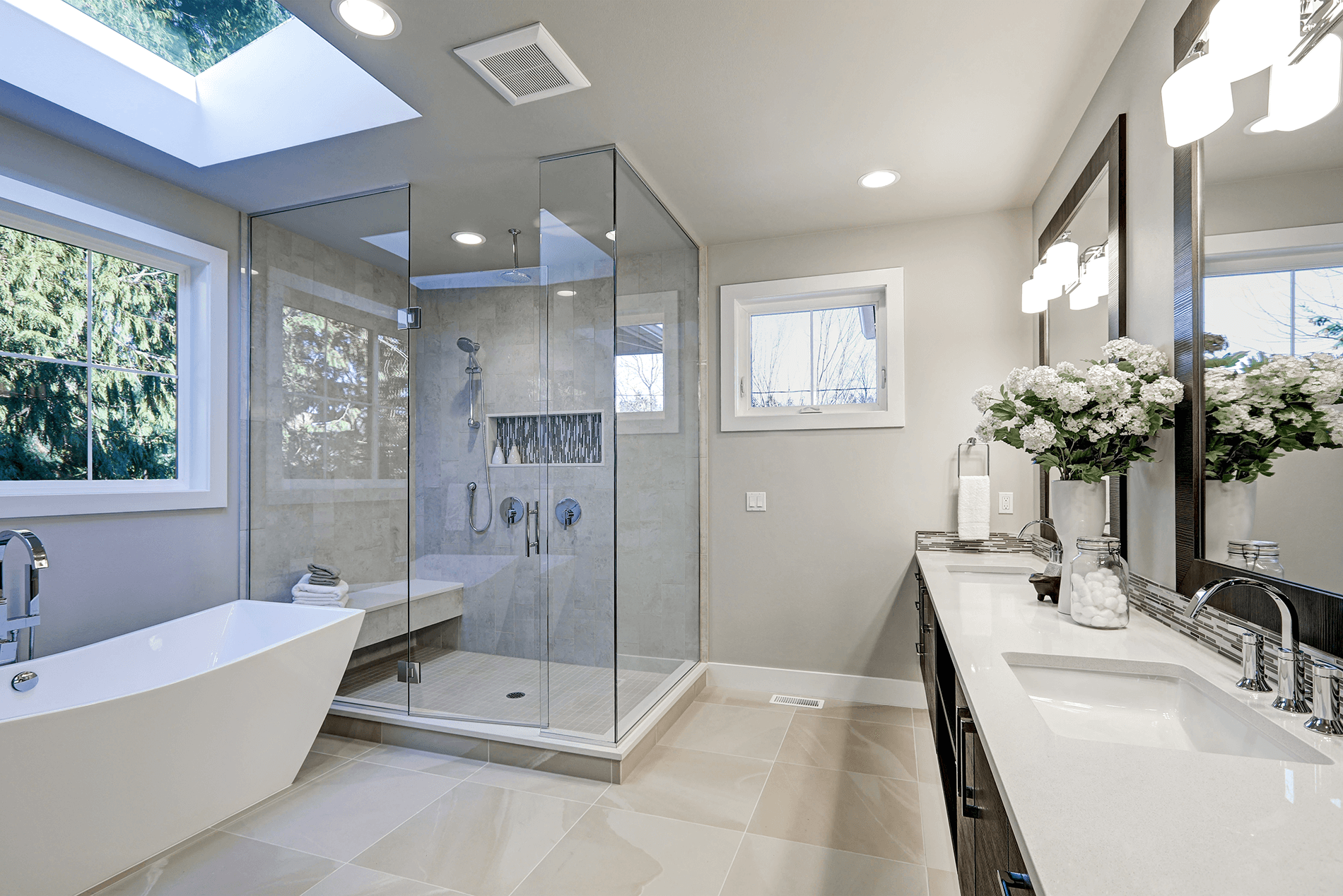 Glen Iris minimalist bathroom design